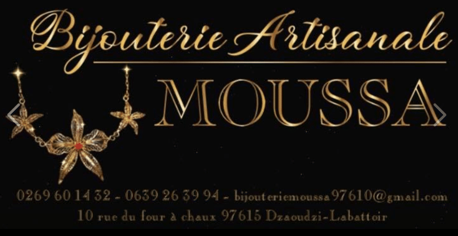 Logo Bijouterie artisanale Moussa