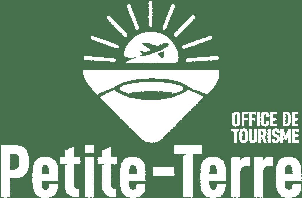 LOGO Office de Tourisme de Petite-Terre BLANC