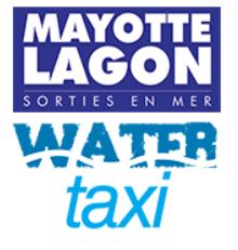 Logo Mayotte lagon water taxi